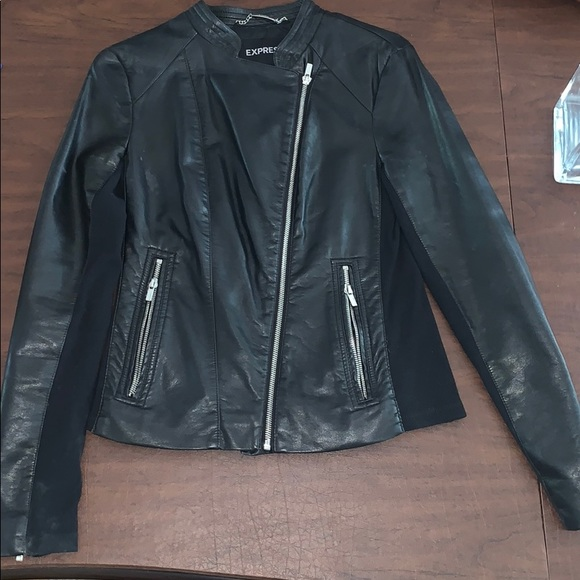 72694a903 Express Faux Leather Jacket Small